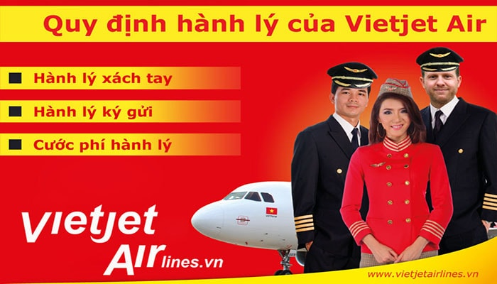 Quy dinh hanh ly cua Vietjet Air